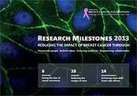 Check out the amazing research for a cure being funded by the National Breast Cancer Foundation!