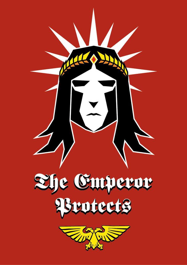Imperial Propaganda poster for Warhammer 40k