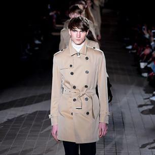 aw15 blacklabel crestbridge Debut Runway Trench coat
