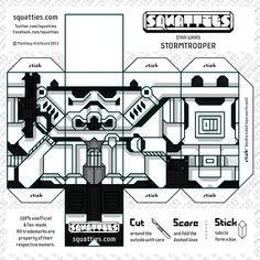 Cubeecraft de Star Wars - Stormtrooper 2