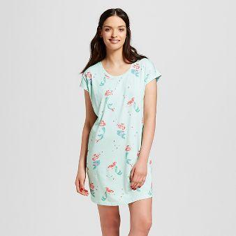 Nite Nite Munki Munki® Disney Women's The Little Mermaid Nightgown