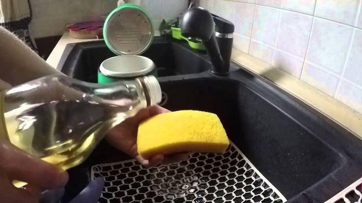 Bicarbonato e aceto sgrassatore fatto in casa