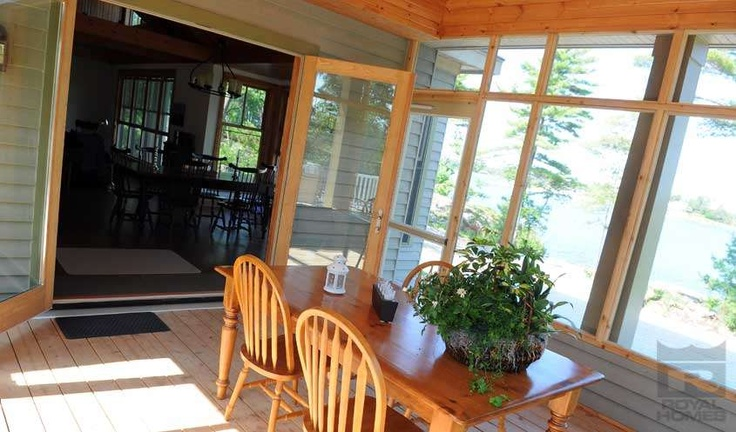 Island Cottage Sunroom