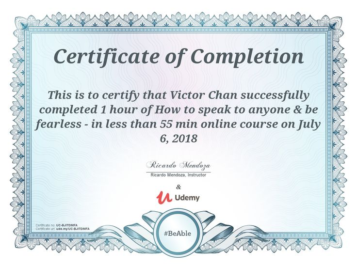 udemy certificate completion course courses anywhere class anytime