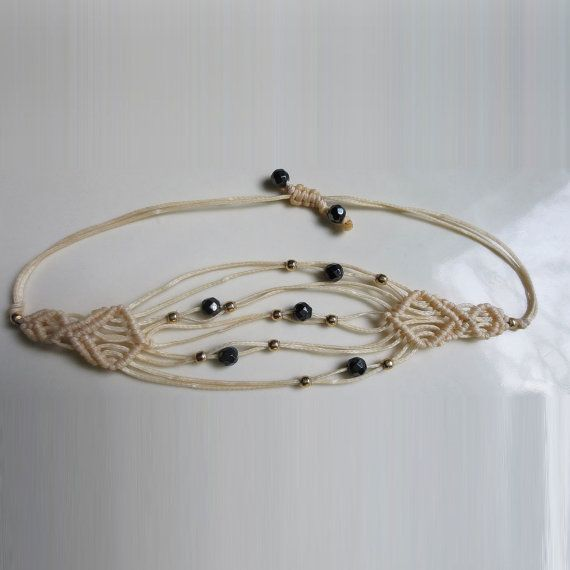 Hey, I found this really awesome Etsy listing at https://www.etsy.com/listing/253292697/white-macrame-bracelet-white-thread