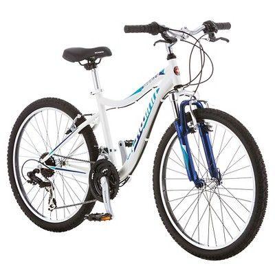 Schwinn Girls' Ranger 24 Mountain Bike - White/Blue