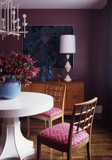 1000 ideas about purple dining rooms on pinterest plum for Purple dining room ideas