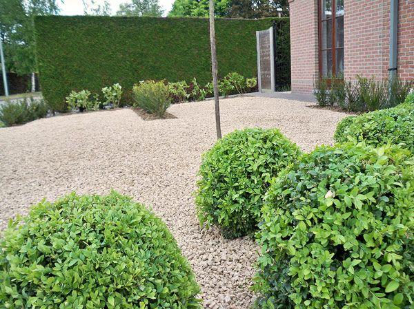 voortuin in Harelbeke - tuinarchitectuur Green Living