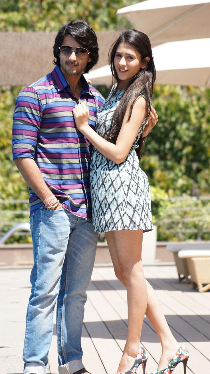 #TereSheharMein Hiba Nawab and Dhruv Bhandari from TV serial. Amaya Mathur played by Hiba Nawab. Watch full gallery http://newstodaylive.org/tere-shehar-mein-hiba-nawab-dhruv.htm