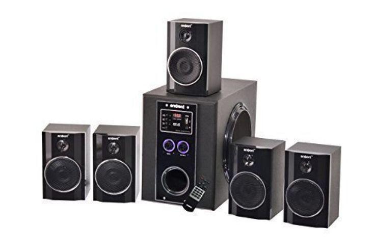 Envent DeeJay Rock+, 5.1 True Wood Home Audio Speaker