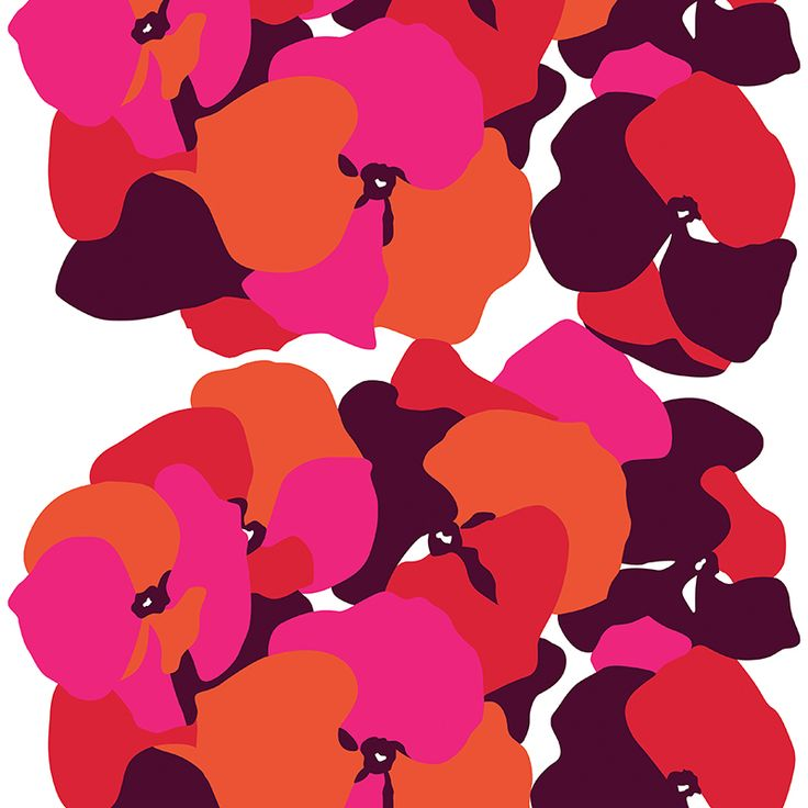 Malva Pink // Metsovaara Premium Print collection from Materialised www.materialised.com  #metsovaara #print #collection #premium #pattern #textile #fabric #interiordesign #materialised