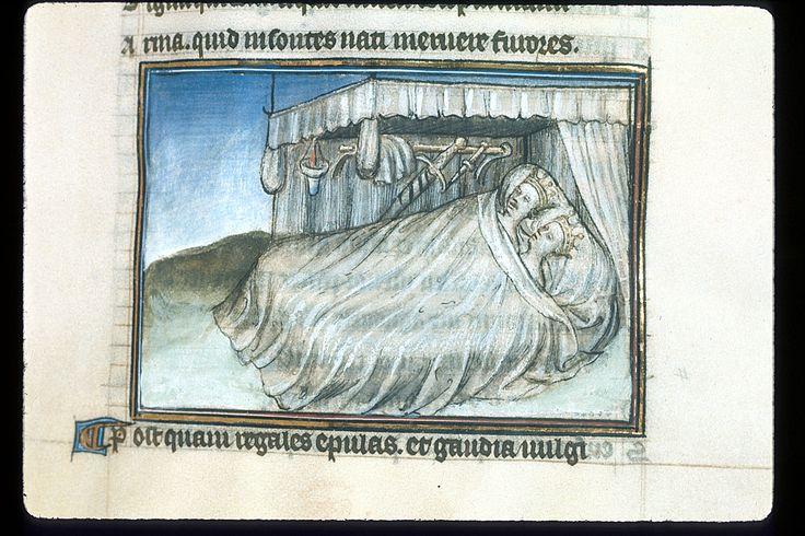 Publius Papinius Statius Thebais , with the argumenta antiqua; Achilleis, Francja, ok. 1405, f27
