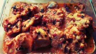 Dry Chicken Karhai (Indian or Pakistani Wok)