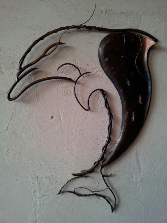 My ironwork clok