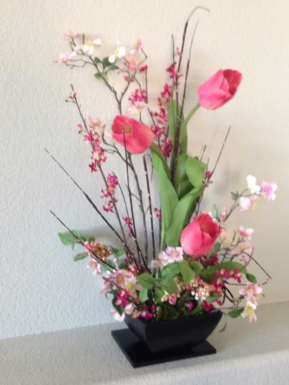 Here Are The Coolest Silk Flower Designs To Make Your Event Special Source Flower Arrangement Designs Silk Flowers Flower Arrangements
