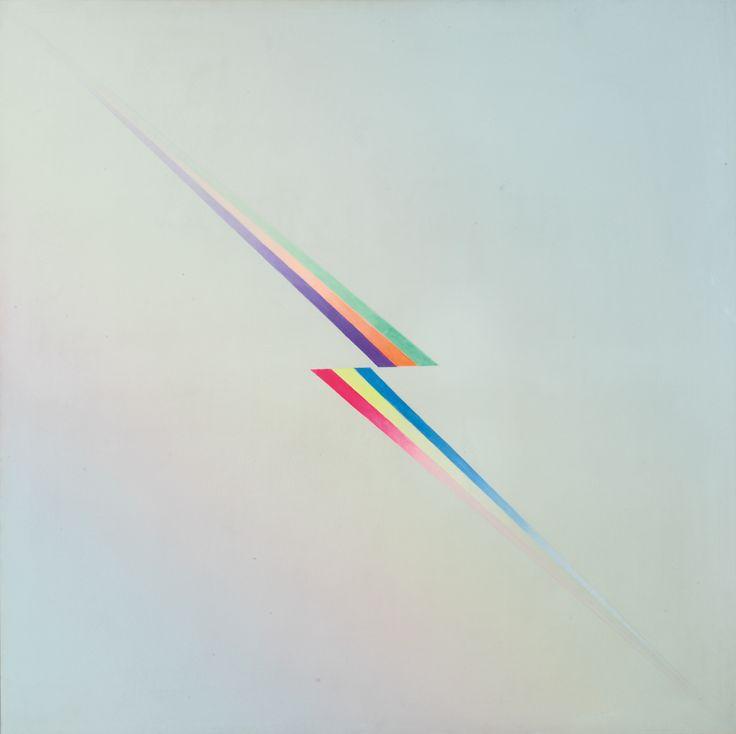 Jef Verheyen. Eon, 1973, oil on canvas.