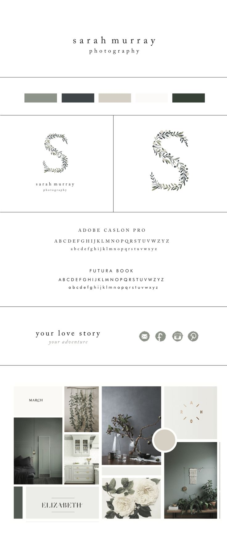 Sarah Murray Branding by Morgan Parsons Creative. | www.morganparsons.co