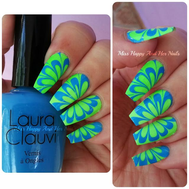 Laura Clauvi water marble tutorial
