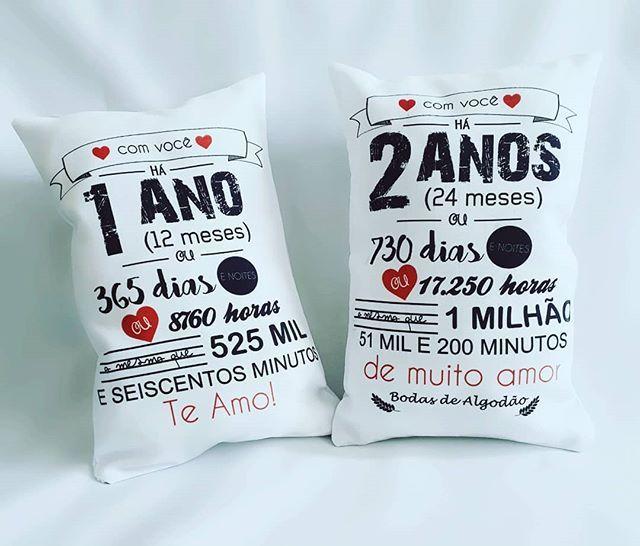 Aaaaaa O Amor Almofadas Anos De Amor