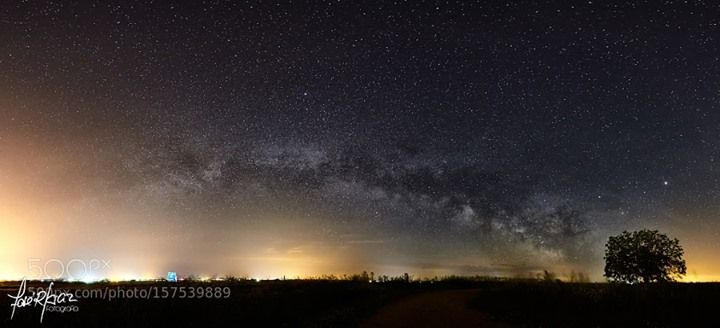 Via Lactea sobre la Tierra del Vino Zamora  Image credit: http://ift.tt/1Zut2VJ Visit http://ift.tt/1qPHad3 and read how to see the #MilkyWay  #Galaxy #Stars #Nightscape #Astrophotography
