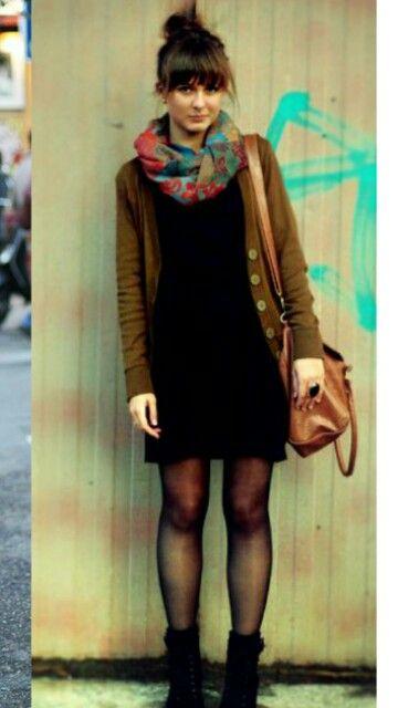 Vestido no inverno