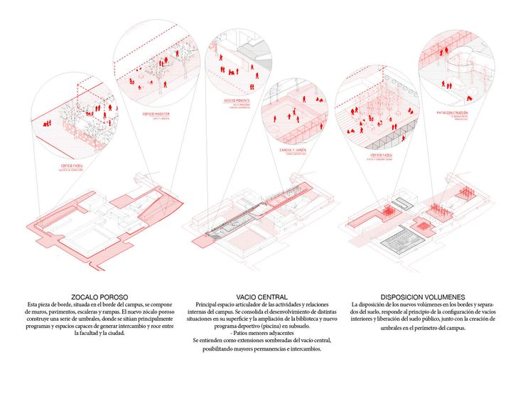 Galería de Beals + Lyon Arquitectos, primer lugar en concurso de plan maestro del campus Lo Contador / Chile - 9