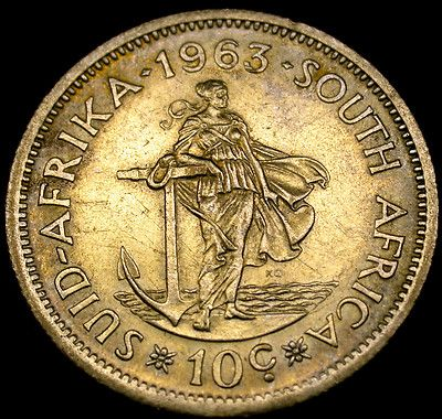 1963 SOUTH AFRICA 10 Cents