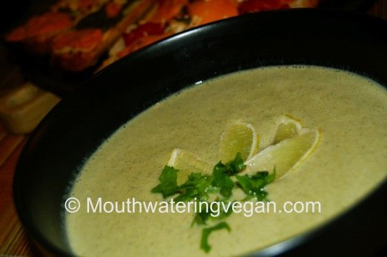 Cream of broccoli and coconut soup - too easy and oh so tasty - one of ...