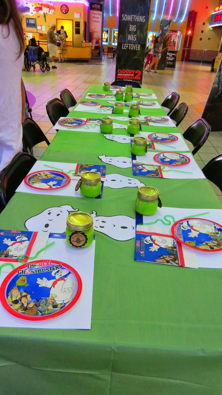 Ghostbuster Party Decor & Goodies