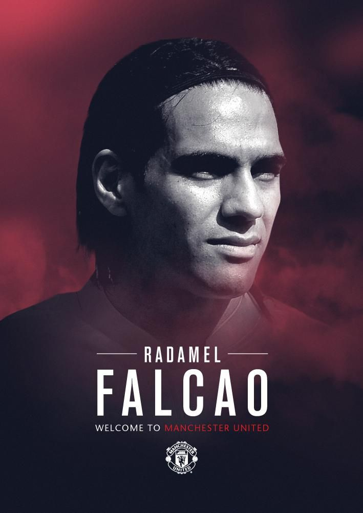 Welcome to #mufc, Radamel @Falcao! RT if you're excited to see our new striker in action. pic.twitter.com/U1aC1WS6m4
