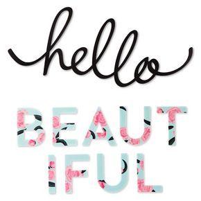 Hello Beautiful - Wall Decal