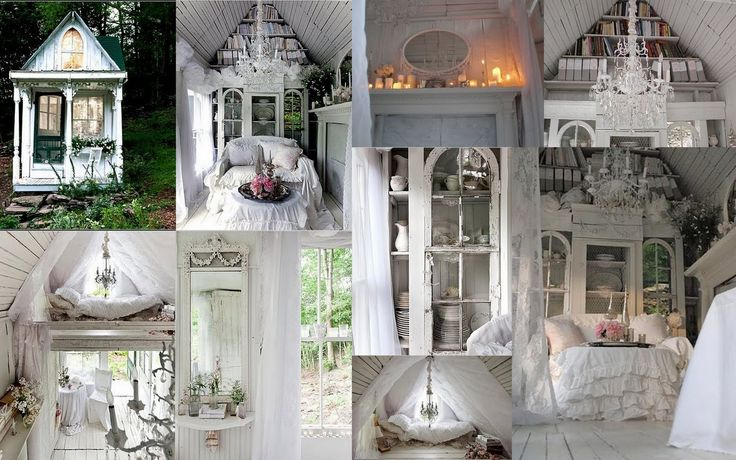 64 best shabby chic tiny homes images on pinterest for Piani casa micro cottage