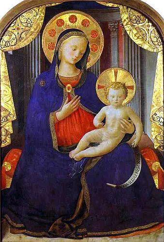 Fra Angelico - Vierge à l'enfant