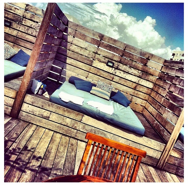 Roof Top @ The Catalina Hotel in Miami #myphoto