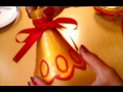 Reciclando garrafa Pet para o natal