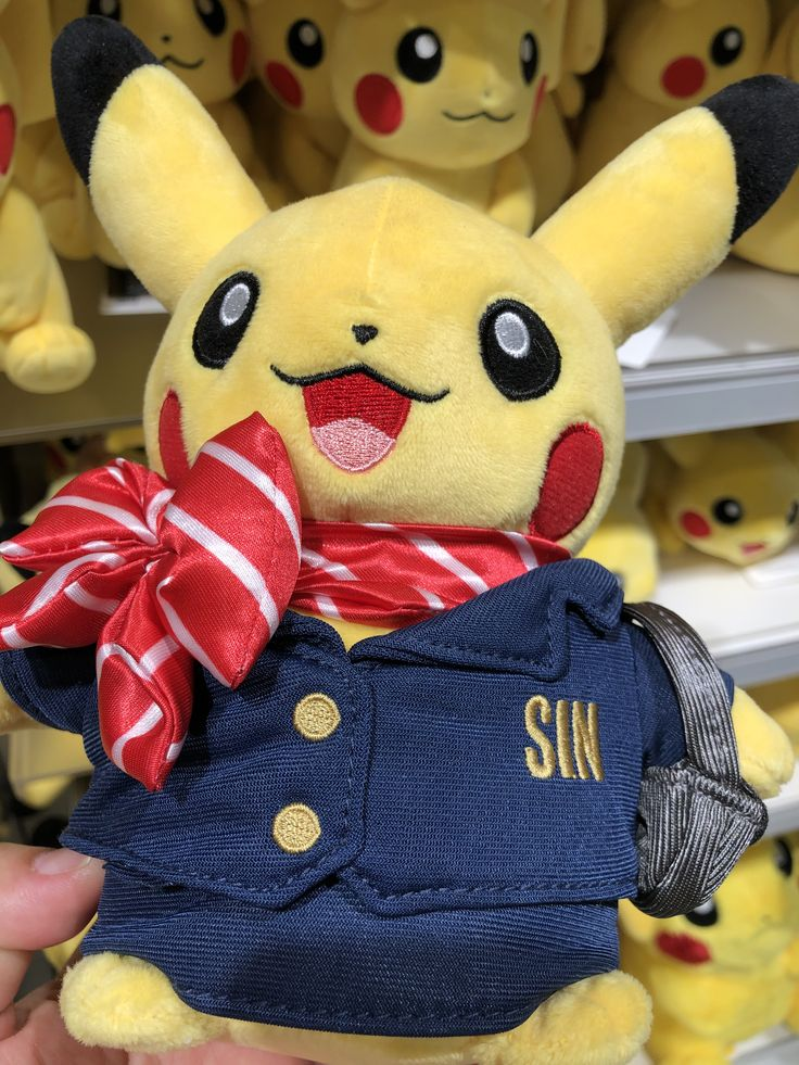 Singapore exclusive Pikachus Pokemon collection, Pokemon