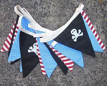Nautical pirate themed nursery for a boy