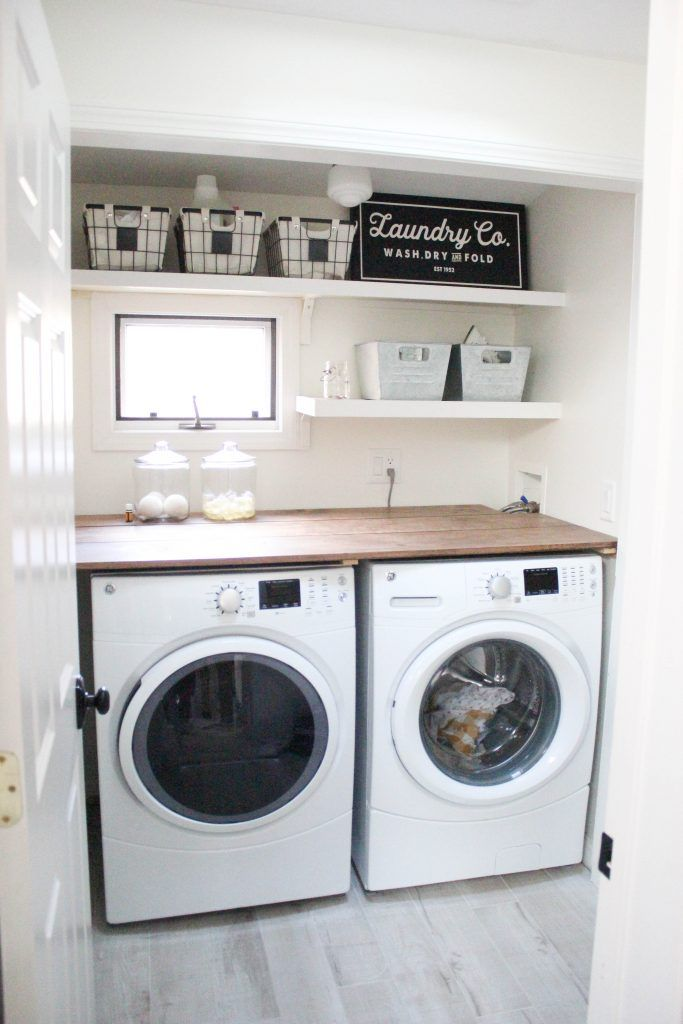 17 best ideas about small laundry rooms on pinterest laundry room small ideas small laundry - Laundry room designs small spaces set ...