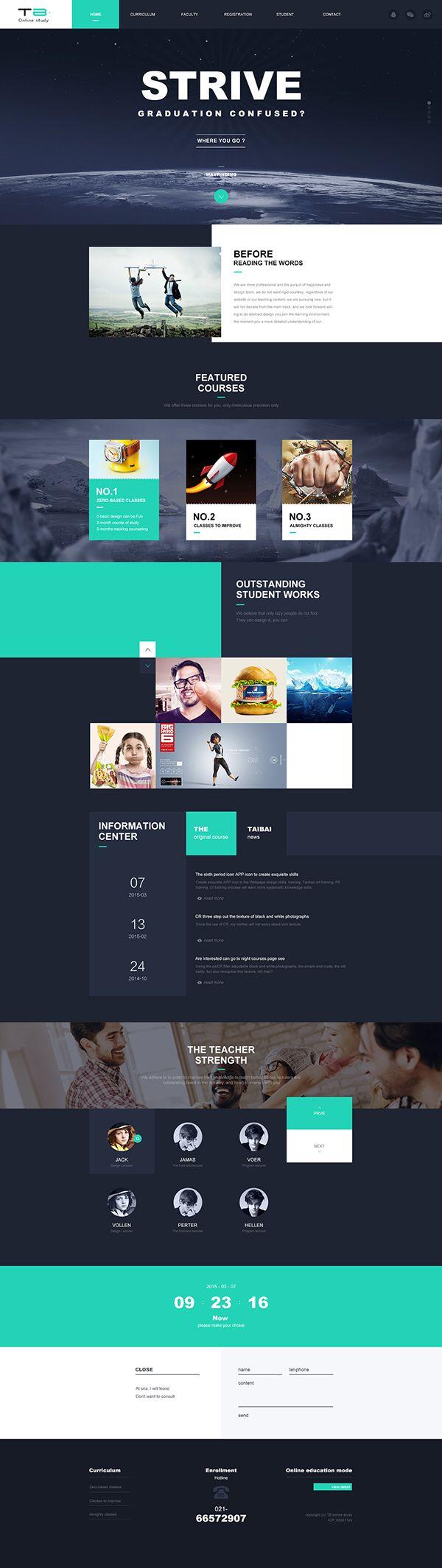 Strive - #webdesign #moderndesign #responsive