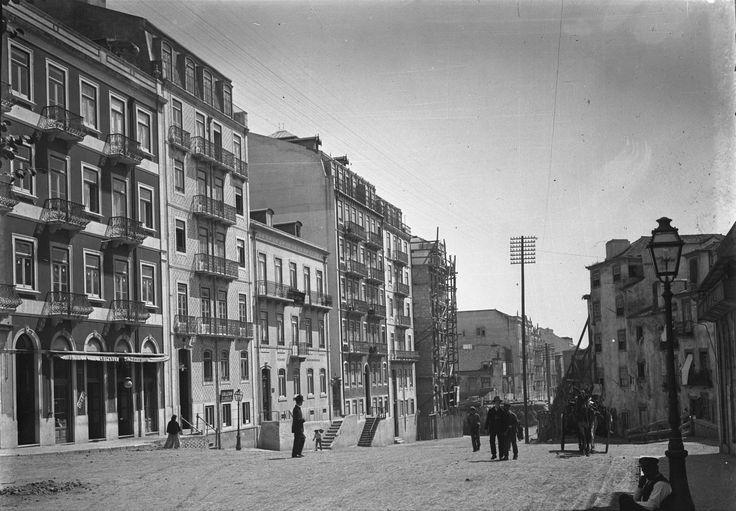 Av. Almirante Reis, Lisboa (J. Benoliel, c. 1908)
