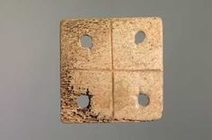Tablet. Roman period. Bone. Wroxeter. Shrewsbury Museums Service (C188 ...