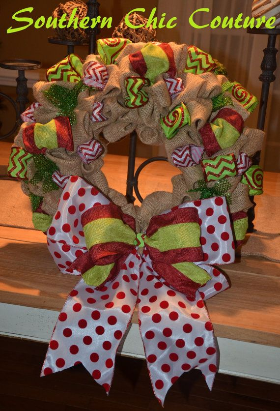 Hey, I found this really awesome Etsy listing at http://www.etsy.com/listing/166637848/christmas-burlap-wreath-etsy-wreath-fall