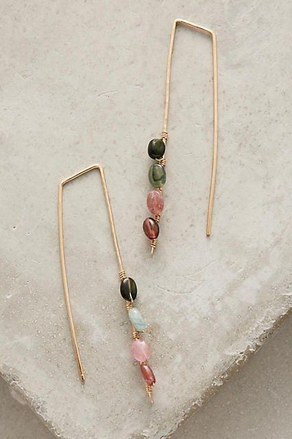 Eugenia Threader Earrings - anthropologie.com