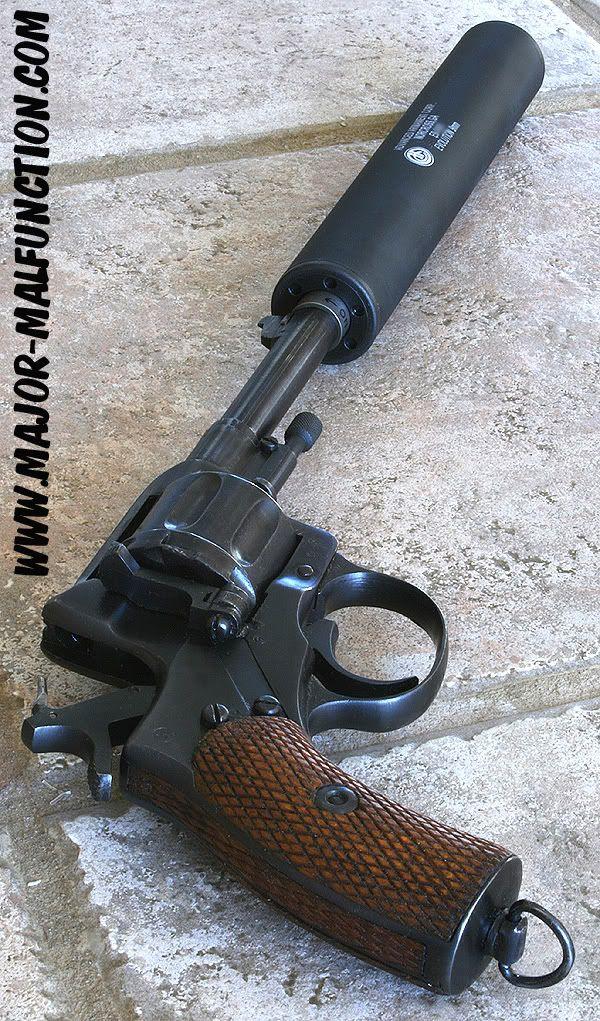 Russian Nagant Revolver w/silencer