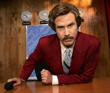 We're getting up close and personal with Ron Burgundy in our new exhibit that launches Nov.14
