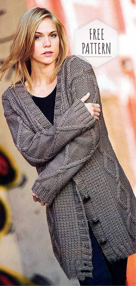 Knitting Patterns Free Cardigans Women Products 44+ Ideas ...