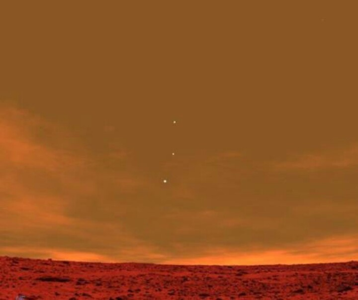 View from Mars: Earth, Jupiter, Venus | Out There | Pinterest