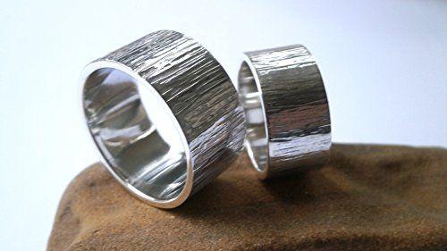 Wedding Band Rings, Couples Wedding Rings, Unisex Silver ... https://www.amazon.com/dp/B078K51L1G/ref=cm_sw_r_pi_dp_U_x_6DmpAb23K7VMT