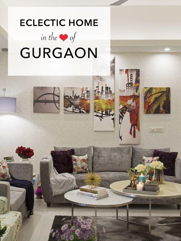 Eclectic and elegant gurgaon interior design