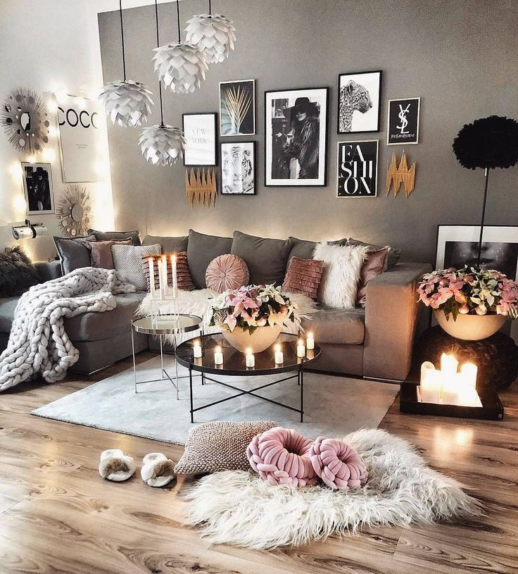 Inspiration Ideas Delightfull Unique Lamps In 2020 Cozy Grey Living Room Living Room Grey Scandinavian Design Living Room
